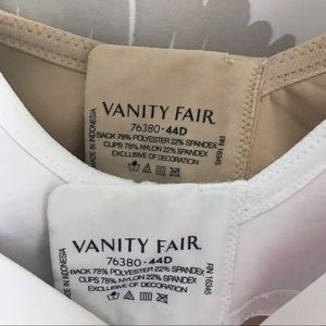 Vanity Fair Intimates & Sleepwear - 2 vanity fair bras EUC underwire 44D